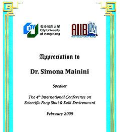 Dr. Mainini Diploma